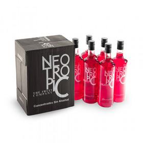 Neo Tropic Verfrissende Grenadine Drank zonder Alcohol 1 L X 6
