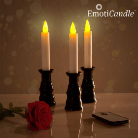 EmotiCandle Romantic Ambiance LED Candles (pack of 3)