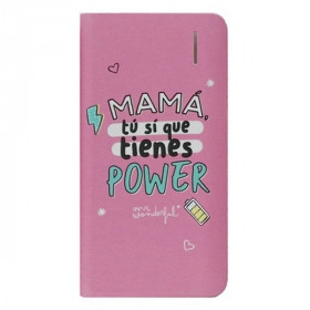Power Bank Mr. Wonderful 4000 mAh Pink