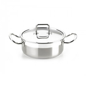 Casserole with lid (20 cm) Stainless steel
