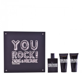 Men's Perfume Set This Is Him! You Rock! Zadig & Voltaire (3