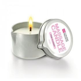 Massage Candle Pink Flower LoversPremium