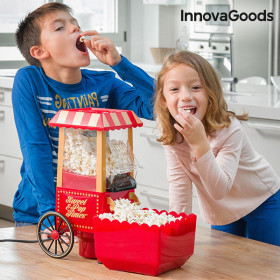 InnovaGoods Sweet & Pop Times 1200W Rood Popcornmaker