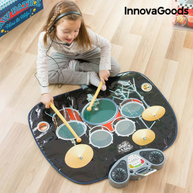 InnovaGoods Drum Musical Playmat