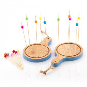 Take Tokio Bamboo Mini Board Tapas Set (16 Pieces)
