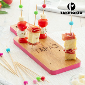 TakeTokio Board Bamboo Tapas Set (16 Pieces)