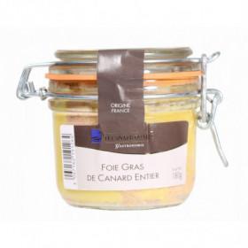 Lot de 2 Foie gras de canard entier du Sud-Ouest CDM 180g
