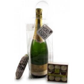 Coffret Cadeau Ice Bag Champagne & Chocolats