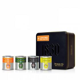 Coffret assortiment 4 huiles d'olive aromatisées dont Truffe