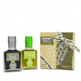 Duo Gourmet Touch citron vert & balsamique bio