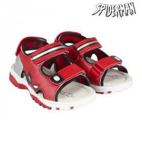 Children's sandals Spiderman Red