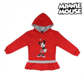 Hooded Sweatshirt for Girls Minnie Mouse Red