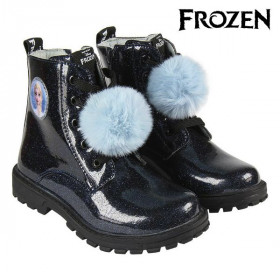Kids Casual Boots Frozen Black