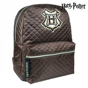 Casual Backpack Harry Potter Brown