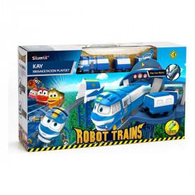 Circuit Megaestación Robot Trains Bizak