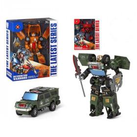 Robot car Deformation Warriors