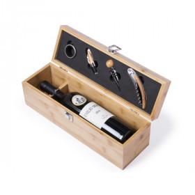 Wine Gift Set Premium (4 pcs) Bamboo 146100