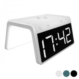 Alarm Clock with Wireless Charger Qi 10W