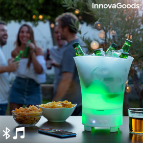 LED bucket with rechargeable speaker Sonice InnovaGoods