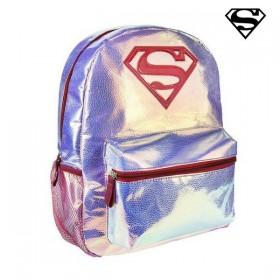 Schoolrugzak Superman Roze