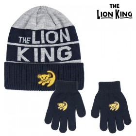 Hat & Gloves The Lion King Grey (2 Pcs)