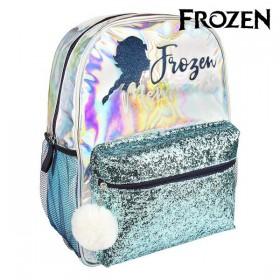 School Bag Frozen Light blue Metallic