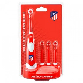 Elektrische tandenborstel + Navulling Atlético Madrid Rood