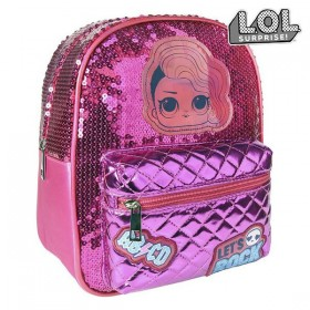 Casual Backpack LOL Surprise! 72767 Fuchsia