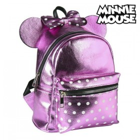 Casual Backpack Minnie Mouse Pink