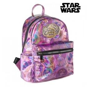 Casual Backpack Star Wars Lilac Metallic