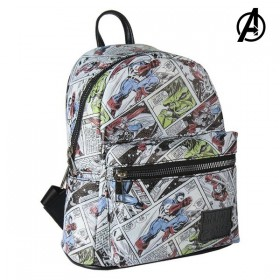 Casual Backpack Marvel White