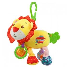 Activity Soft Toy with Vibration Nenikos Lion +3m