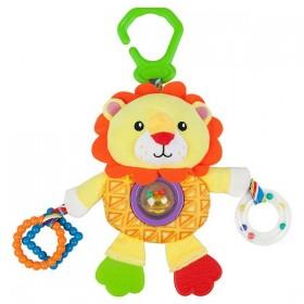 Activity Soft Toy for Babies Nenikos Lion +3m