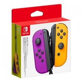 Wireless Gamepad Nintendo Joy-Con Purple Orange