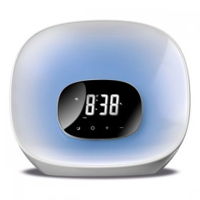 Clock-Radio Daewoo LED White