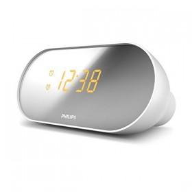 Clock-Radio Philips LED White