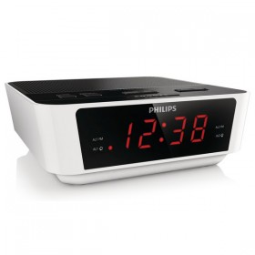 Clock-Radio Philips LED FM 1W White